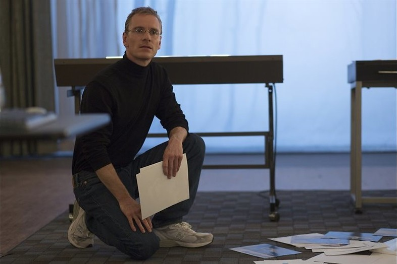 Michael Fassbender is Steve Jobs