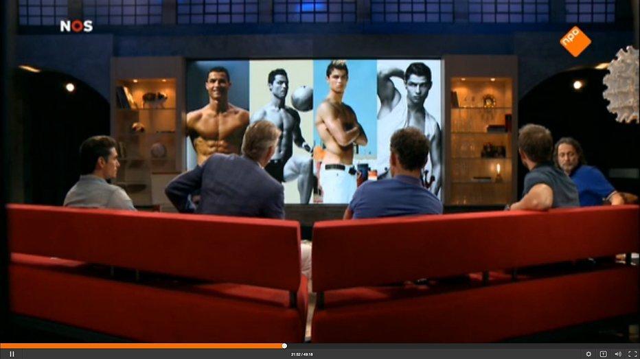 'Studio Ronaldo' ergert kijkers mateloos