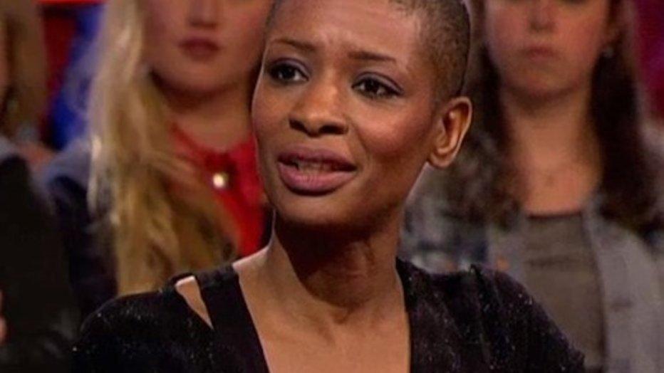 Sylvana Simons strijdt tegen racisme in DWDD