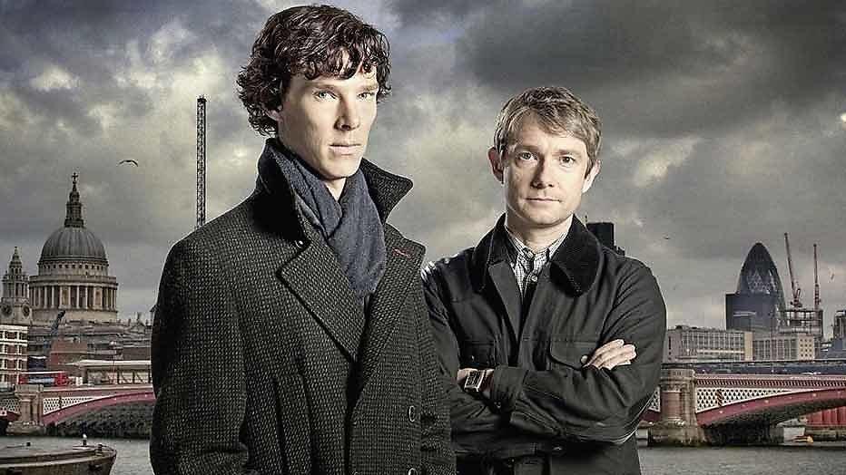Vierde seizoen Sherlock vanaf juli te zien bij Netflix