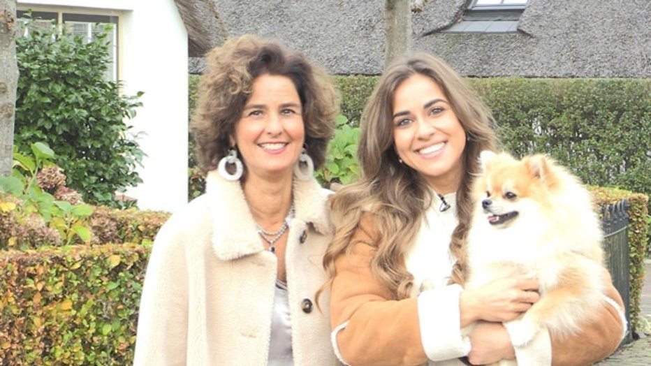 Renate en dochters in Steenrijk, straatarm