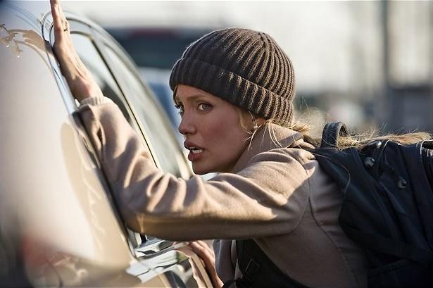 Agelina Jolie op de vlucht