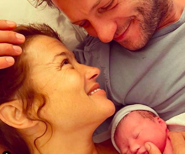 Katja Schuurman bevallen van dochtertje