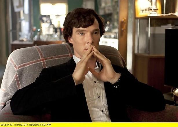 Sherlock stottert zich door speech