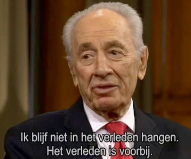 NPO past programmering aan na overlijden Shimon Peres