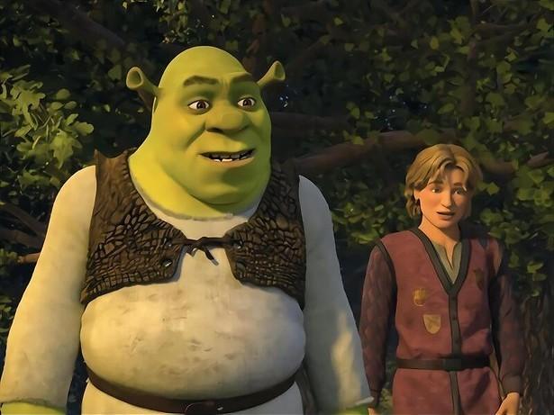 Shrek wil geen koning worden