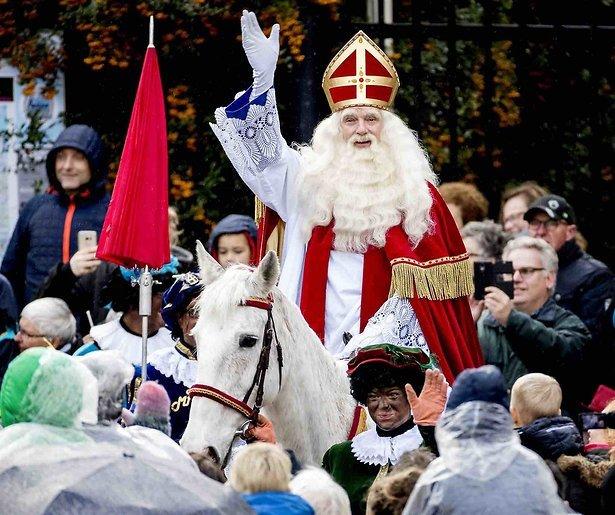 Sinterklaas-intocht 2018 op Zaanse Schans