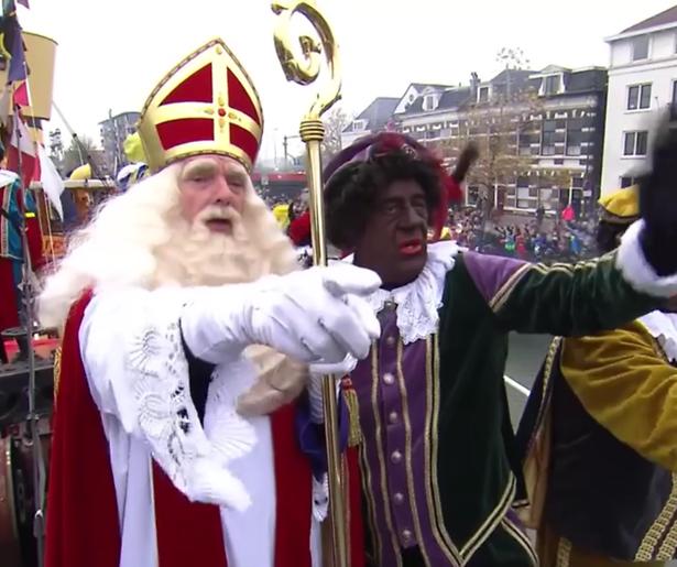 Kijkers onaangenaam verrast bij intocht Sinterklaas