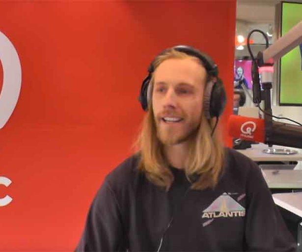 DJ Stephan Bouwman praat op de radio over depressie