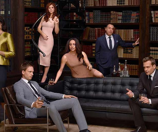 Advocatenserie Suits stopt