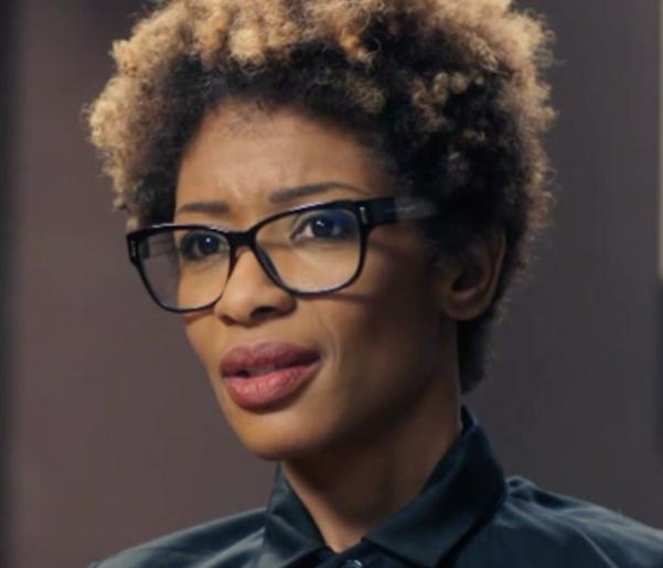 Videosnack: openhartige Sylvana Simons in The Therapist