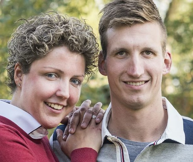 Boer zoekt vrouw-koppel Steffi en Roel voor het eerst ouders geworden