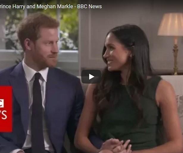 Videosnack: Prins Harry en Meghan Markle stralen van verliefdheid