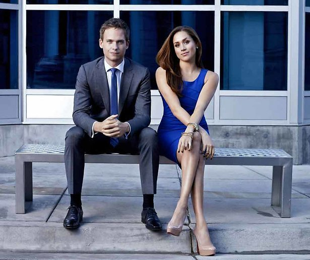 'Meghan Markle en Patrick J. Adams verlaten Suits'