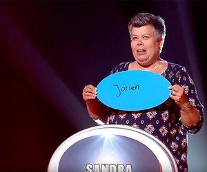 De naaikwaliteiten van Sandra in De Zwakste Schakel
