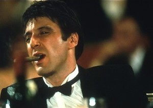 Al Pacino snuift door