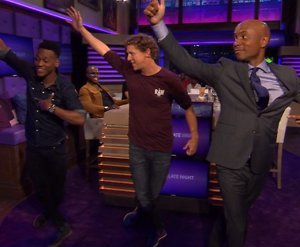 YouTube-hit: Jochem Myjer danst sterren van de hemel in RTL Late Night
