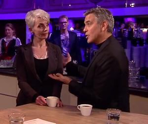 YouTube-hit: Antje haar droom komt uit: koffie ruiken met George Clooney