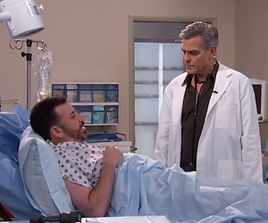 YouTube-hit: George Clooney in E.R-reünie voor Jimmy Kimmel