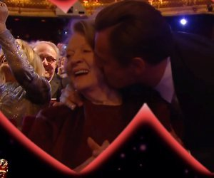 YouTube-hit: Zoenende celebs op Kiss Cam BAFTA-Awards