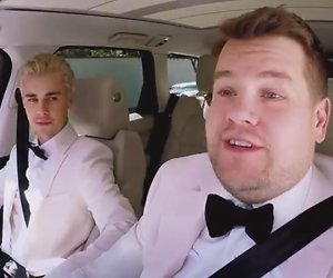 YouTube-hit: James Corden brengt Justin Bieber thuis na Grammy's