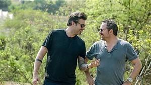 Sergio en Axel wanen zich maharadja's