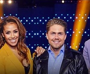 Giel Beelen en Glennis Grace in jury So You Think You Can Sing
