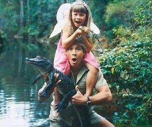 Foto: kinderen Steve Irwin worden groot