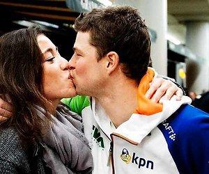 Sven Kramer en Naomi van As verwachten eerste kindje