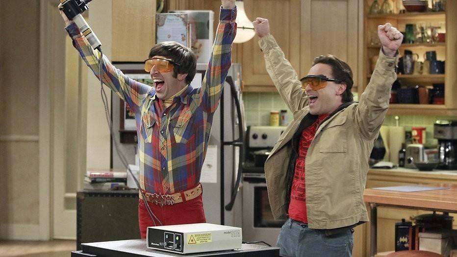 Hoofdrolspelers The Big Bang Theory krijgen 1 miljoen per aflevering