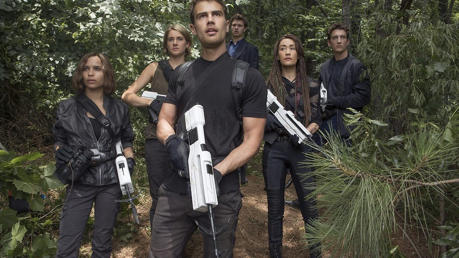 Divergent-reeks mogelijk niet meer in de bioscoop