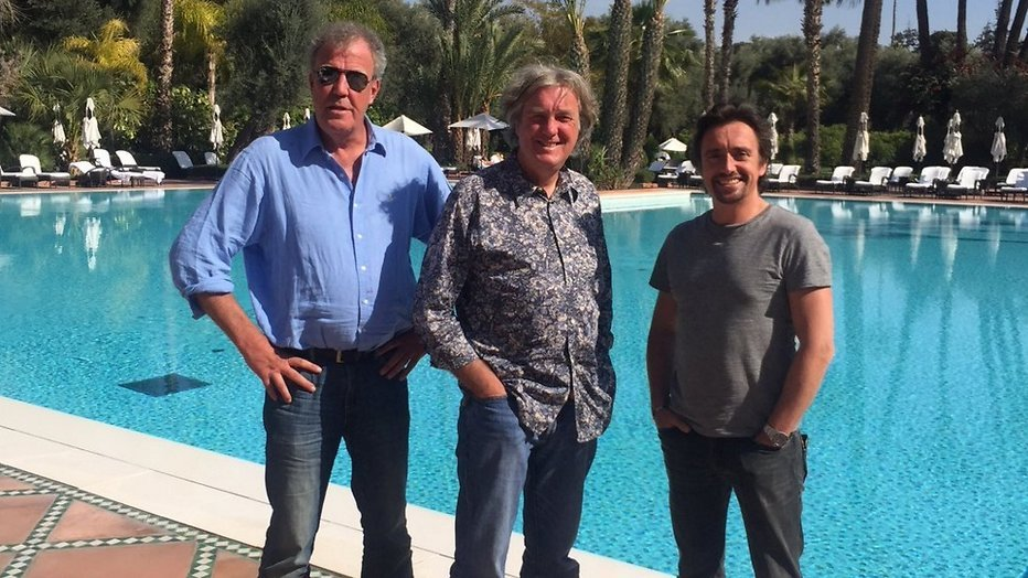 Jeremy Clarksons autoshow The Grand Tour start in Zuid-Afrika