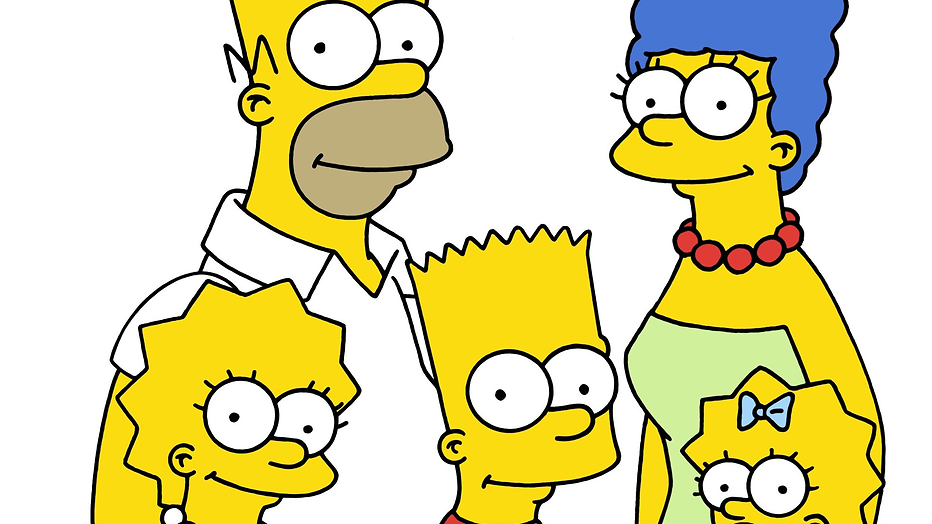 The Simpsons volledig in Lego