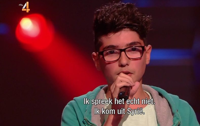 Videosnack: Jean ontroert bij The Voice Kids