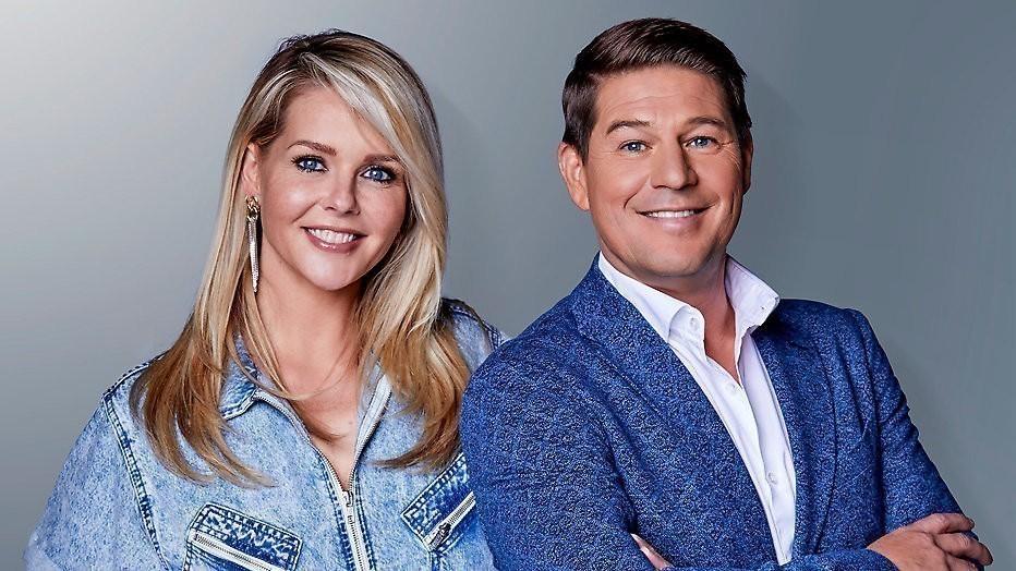 Chantal Janzen en Martijn Krabbé