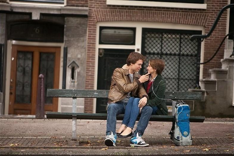 Verliefde tieners in Amsterdam