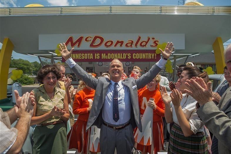 Hamburgers happen met Michael Keaton