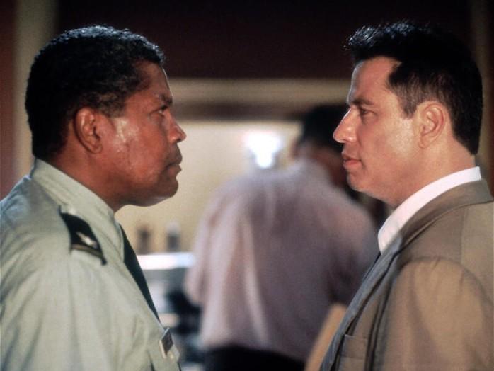 John Travolta lost een moord op
