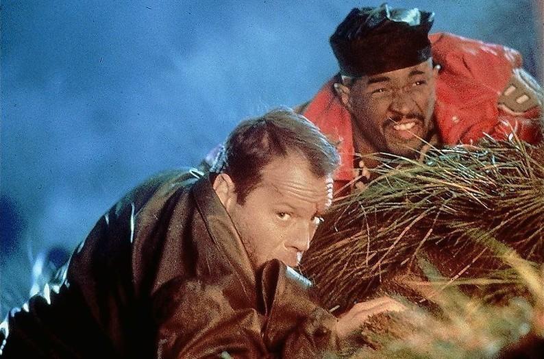 Bruce Willis en Damon Wayans willen wraak
