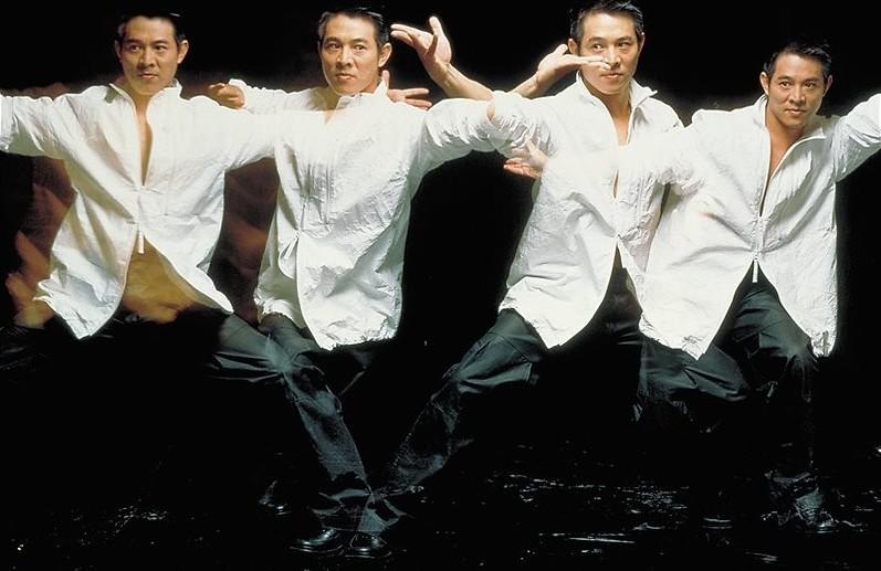 Jet Li knokt met zichzelf