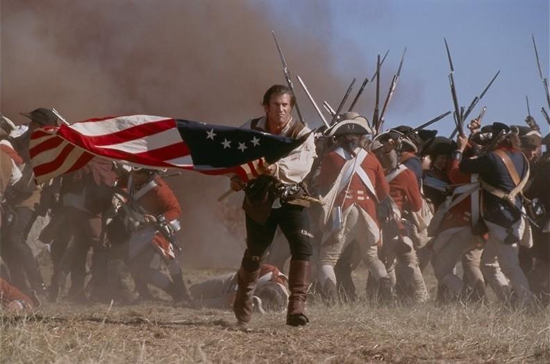 Mel Gibson op het slagveld