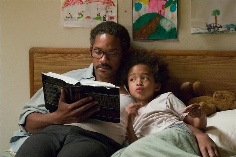 Pursuit of Happyness: Vader en zoon Smith in ontroerend drama