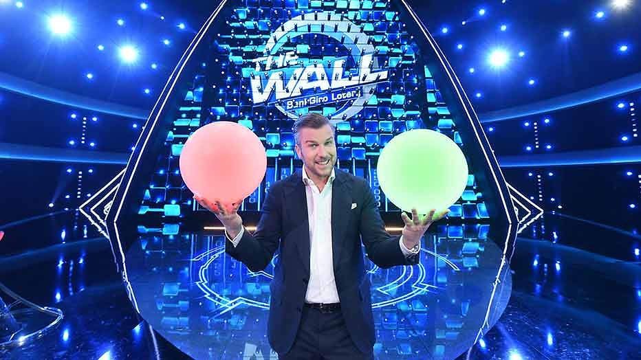 Winston presenteert internationale tv-hit The Wall