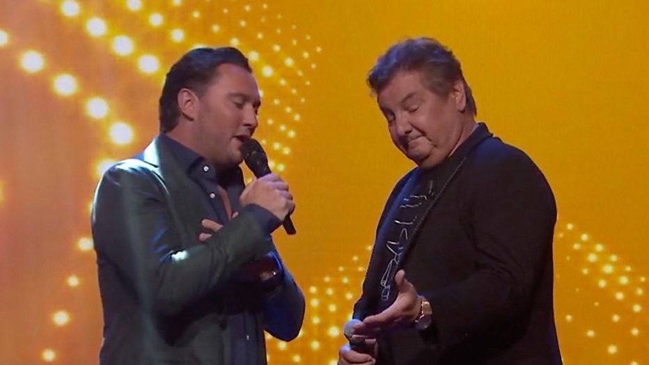 Tino Martin en Rene Froger