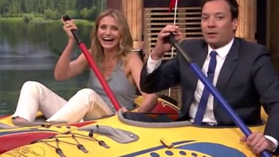 YouTube-hit: Cameron Diaz vernedert Jimmy Fallon