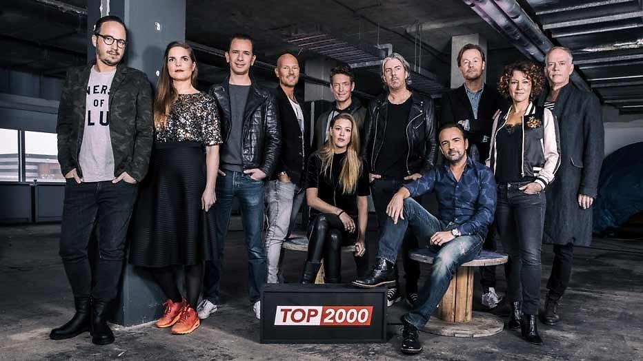 Top 2000-dj's bekend