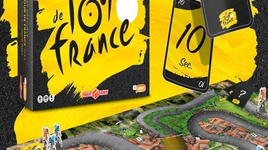 Win 5x Tour de France bordspel