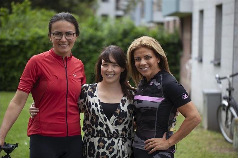 BN'ers trappen een Tour-etappe in Tour de celeb