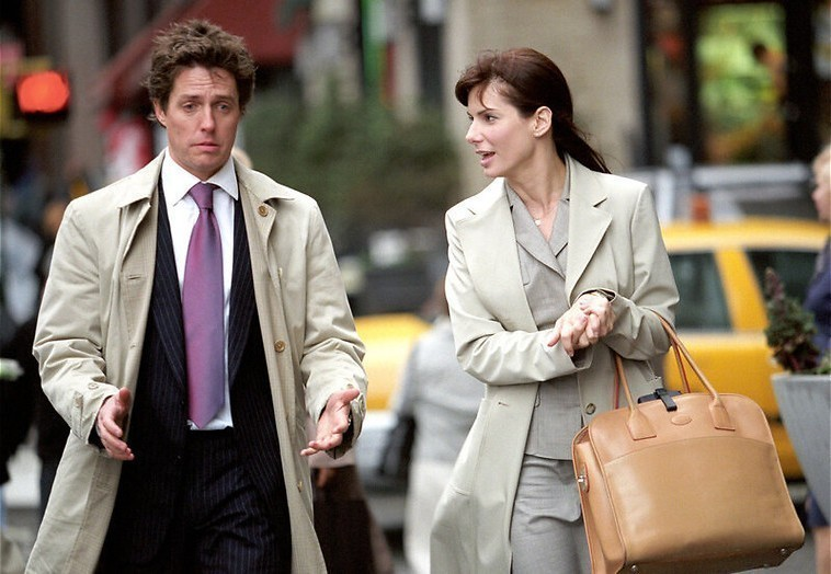 Two Weeks Notice - Hugh Grant hartje Sandra Bullock