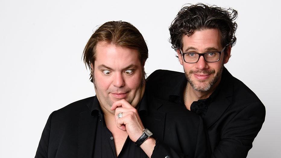 Frank Evenblij en Erik Dijkstra